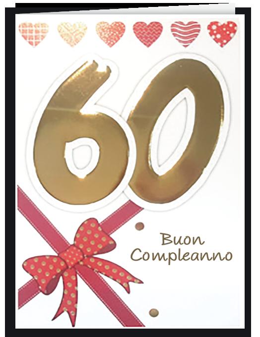 Buon compleanno 60 - per lei-0