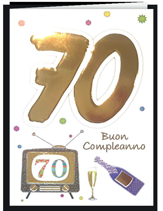 Buon compleanno 70-0