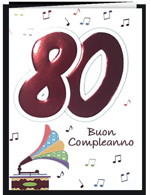 Buon compleanno 80-0