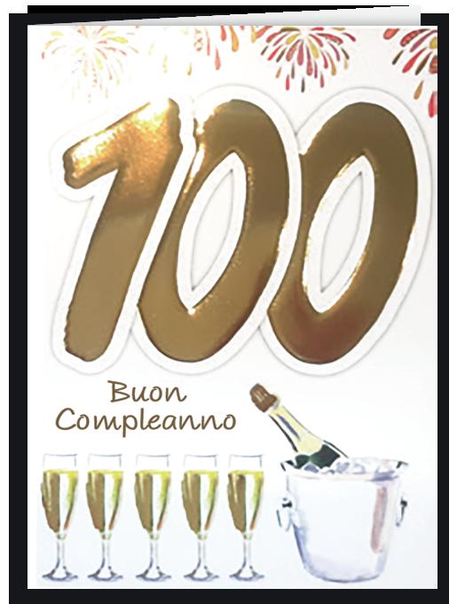 Buon compleanno 100-0