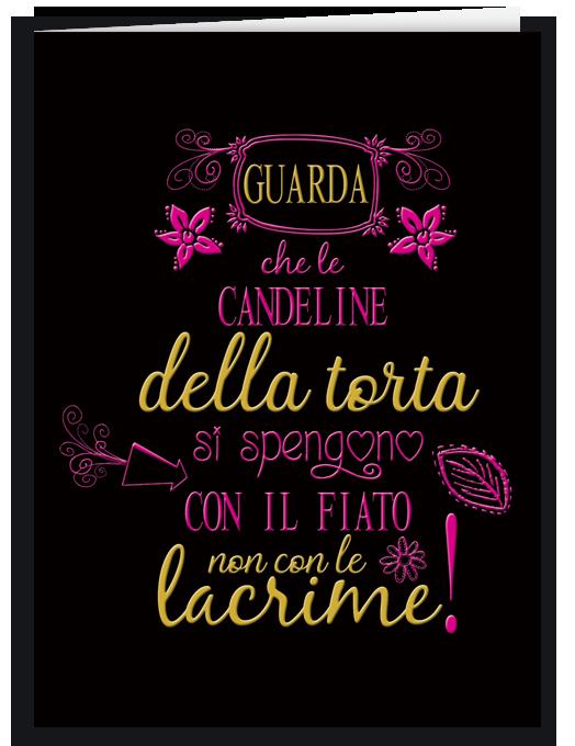 Biglietto compleanno - Spegni le candeline-0
