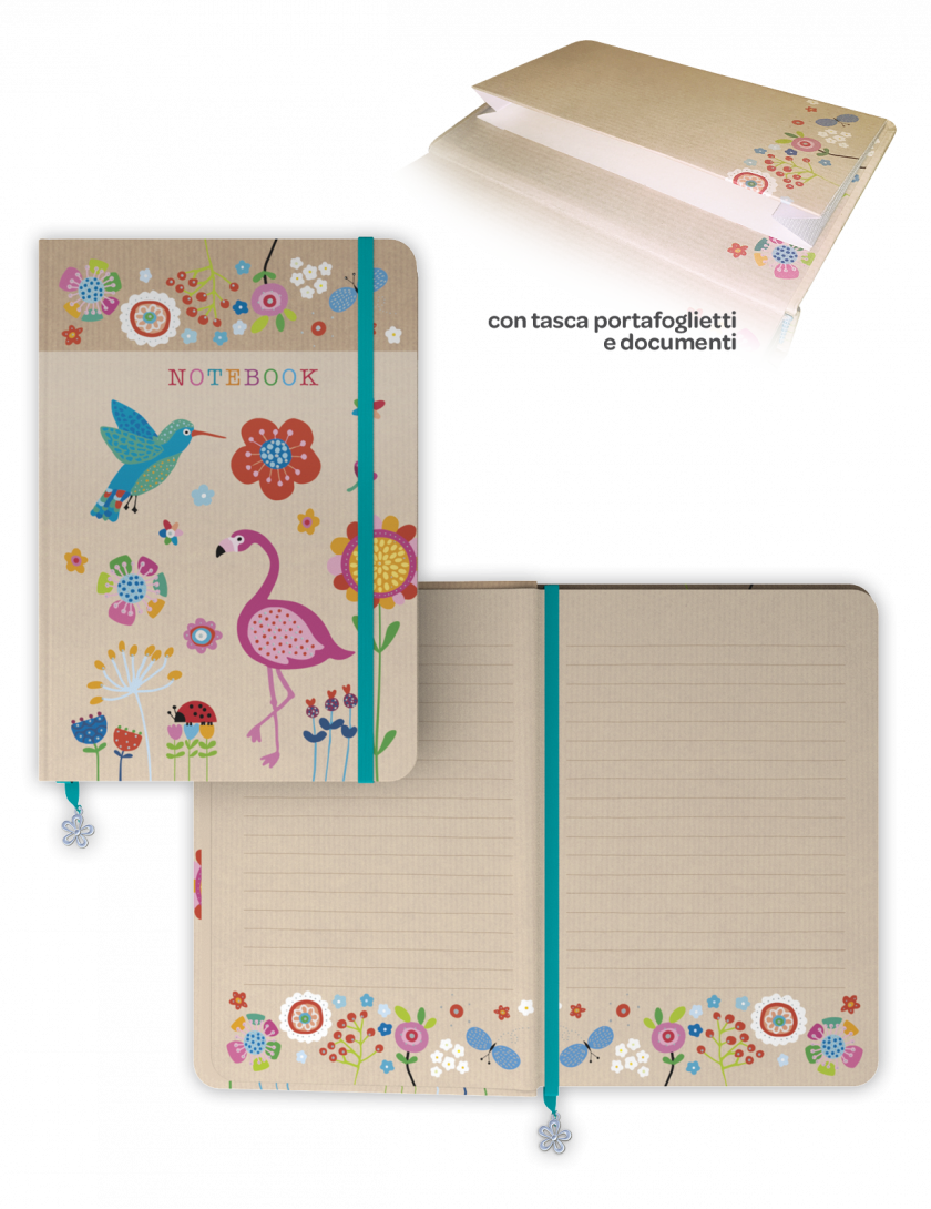 Notebook - Agenda senza date grande