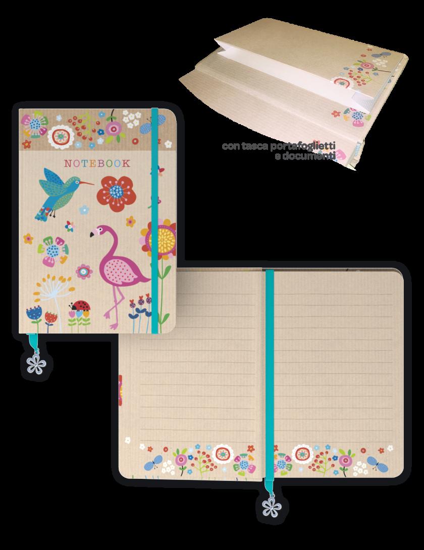 Notebook - agenda senza date, piccola