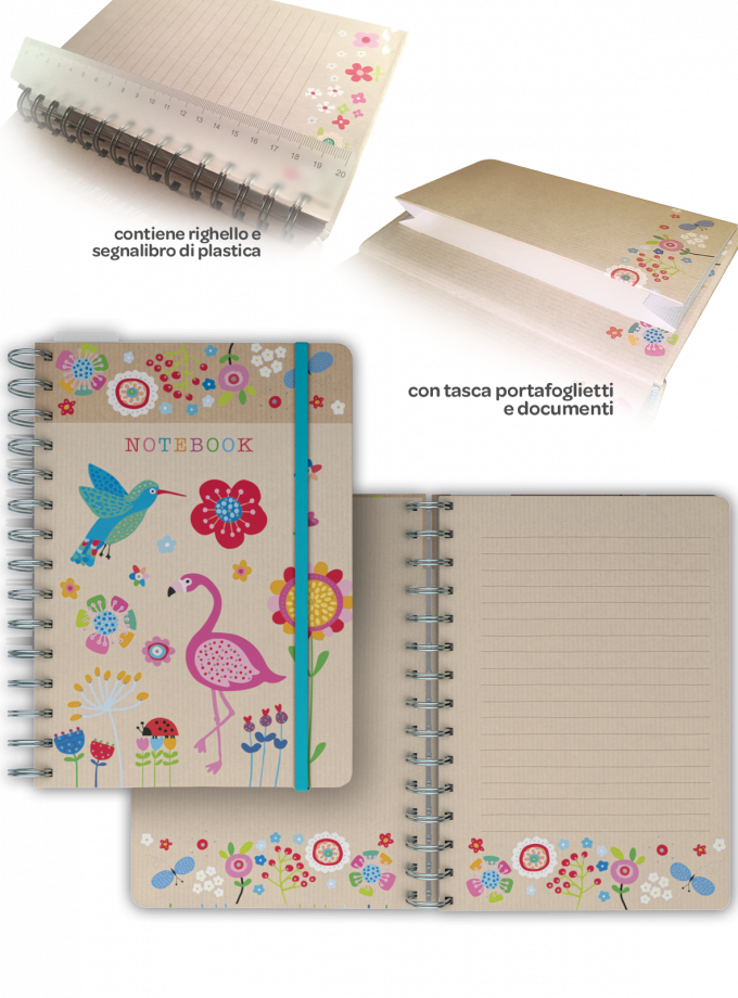 Notebook - agenda ad anelli