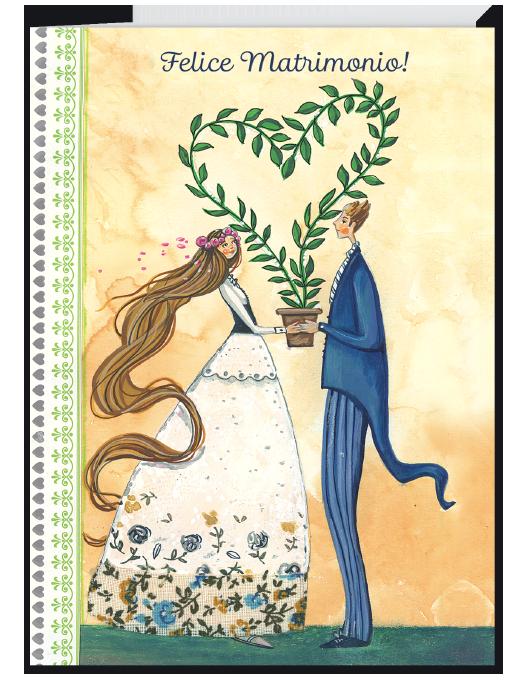 Biglietto di matrimonio - Chiaraluna