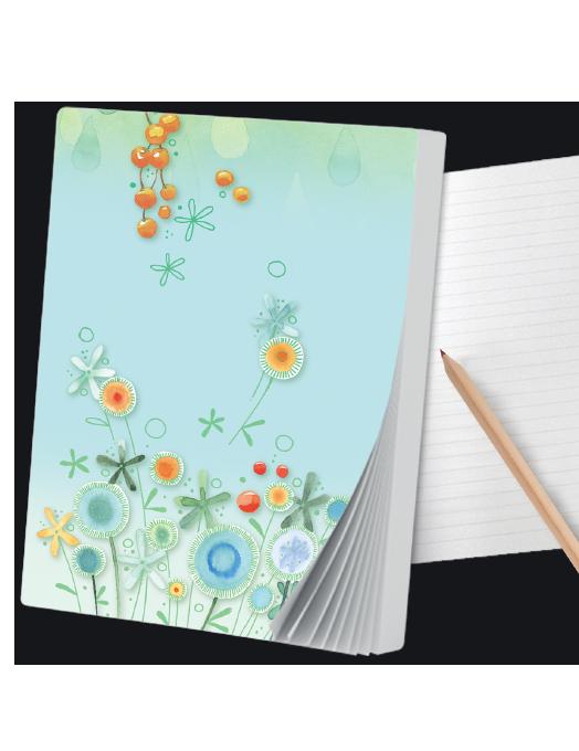 quaderno goccioline A6