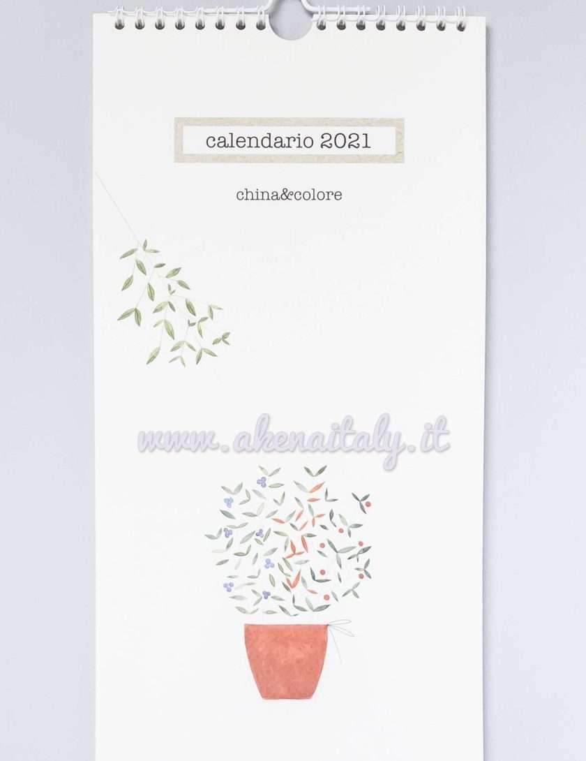 Calendario da parete China&Colore 2021 - Copertina