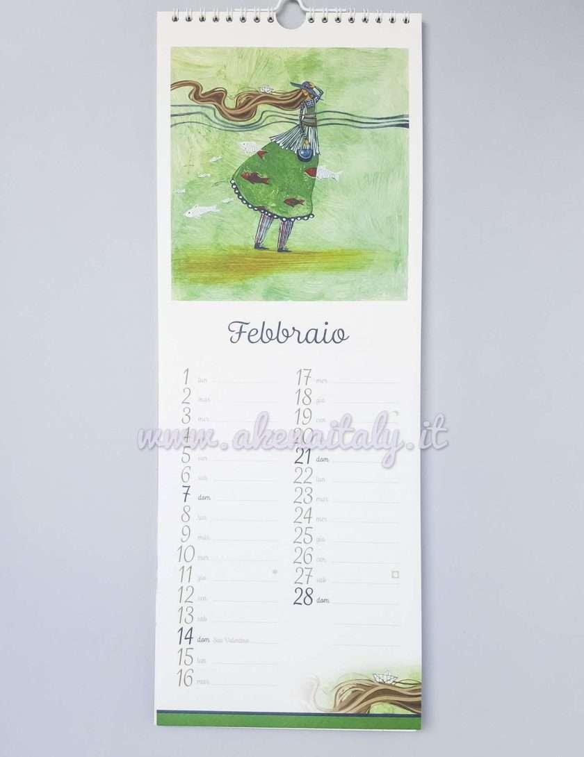 Calendario da parete ChiaraLuna 2020 - Febbraio