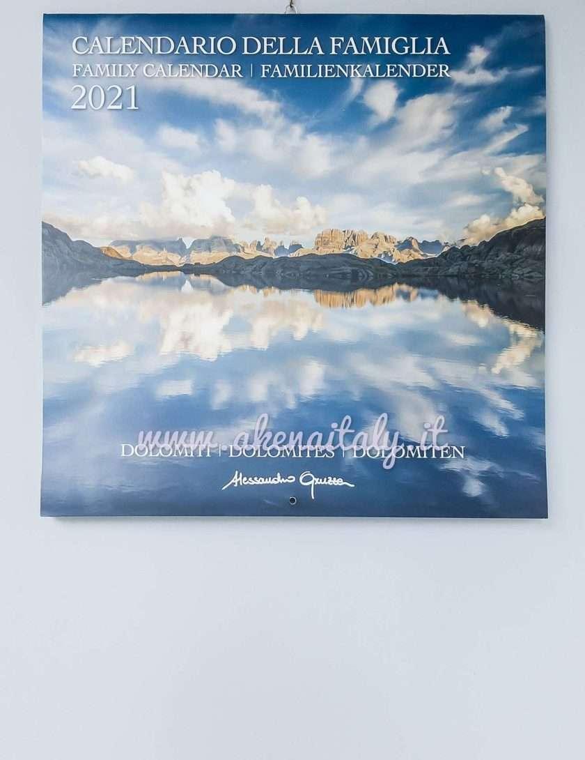Calendario Famiglia Dolomiti 2021 - Copertina