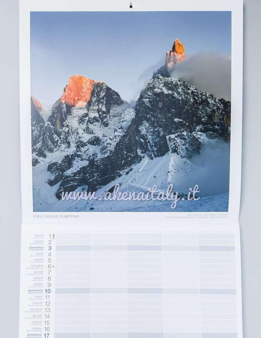 Calendario Famiglia Dolomiti 2021 - Pale di San Martino