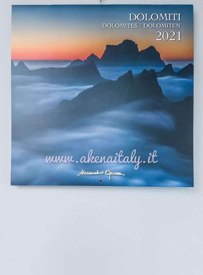 Calendario da parete Quadrato Dolomiti 2021 - Copertina