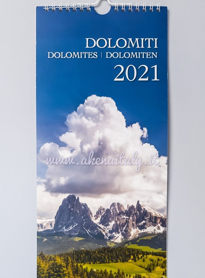 Calendario da parete Dolomiti 2021 - Copertina