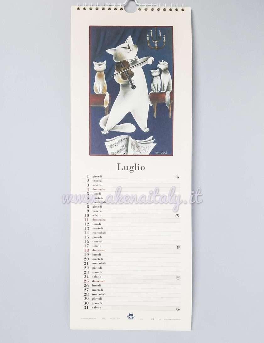 Calendario da parete Gatteria 2021 - Luglio