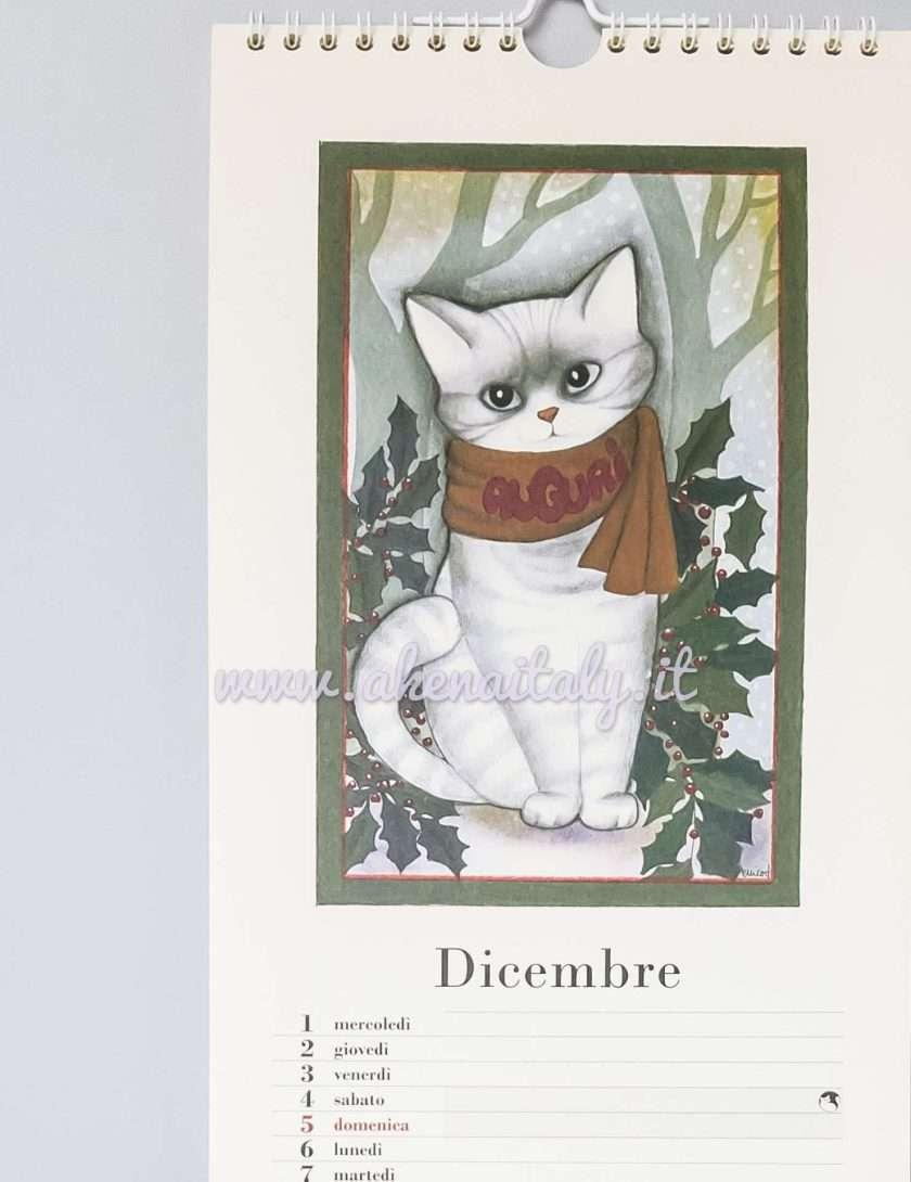 Calendario da parete Gatteria 2021 - Dicembre
