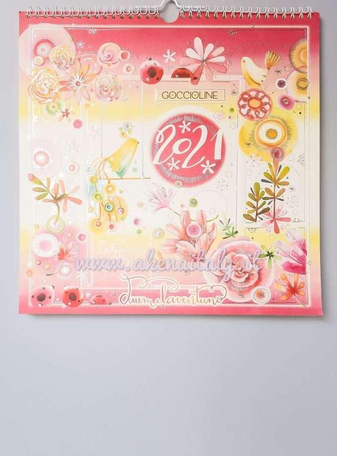 Calendario Famiglia Goccioline 2021 - Copertina