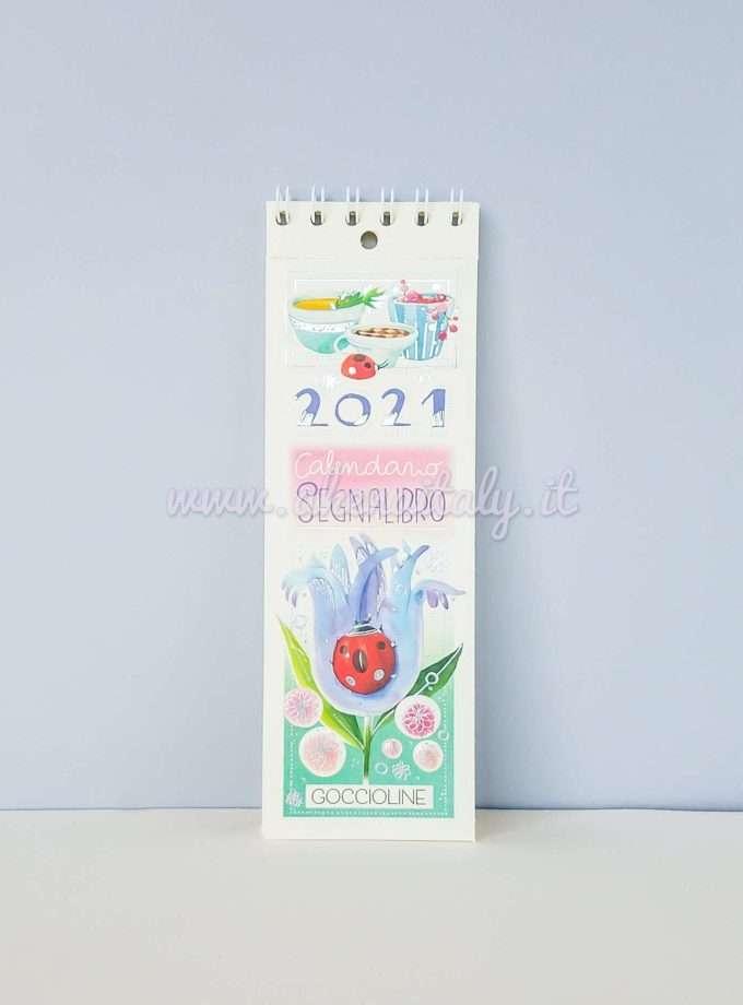 Calendario Segnalibro Goccioline 2021 Coccinella - Copertina