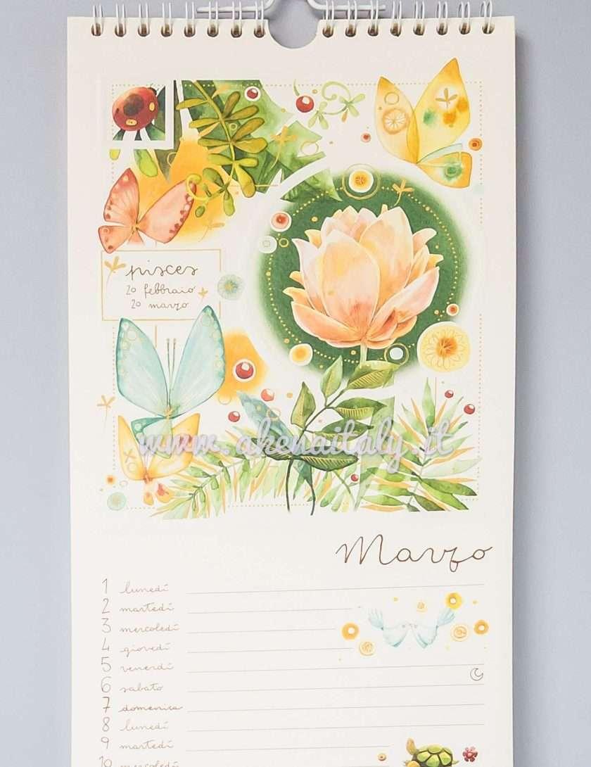 Calendario da parete Goccioline 2020 - Marzo
