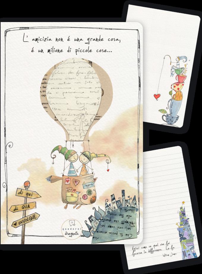 Quaderno A6 - L'amicizia è un milione di piccole cose-0
