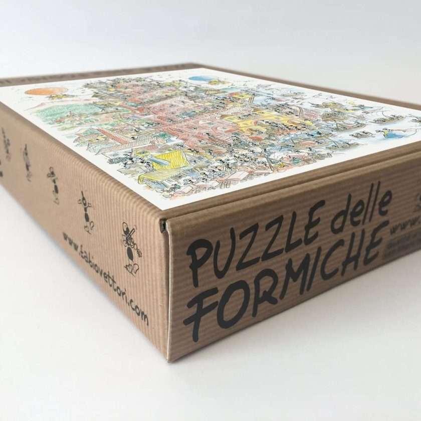Puzzle Torre di Babele - Scatola