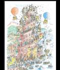 Puzzle Torre di Babele con Le Formiche di Fabio Vettori - 1080 pezzi