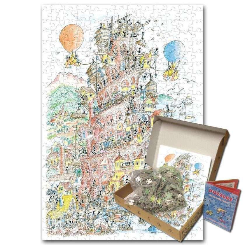 Puzzle Torre di Babele 1080 pezzi dall'incastro perfetto