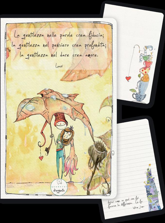 Quaderno A6 – La gentilezza crea amore