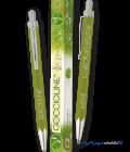 Penna a sfera verde Goccioline