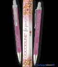 Penna a sfera rosa Goccioline