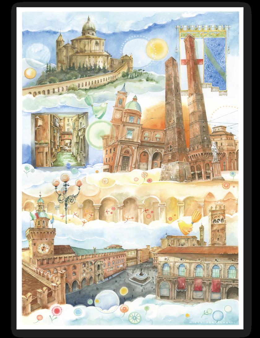 Puzzle Bologna Goccioline 1080 pezzi 50x70 cm - Dettagli puzzle di Bologna