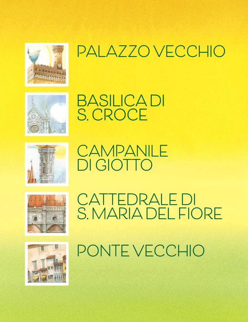 Puzzle Firenze Goccioline 1080 pezzi 50x70 cm - Dettagli città di Firenze