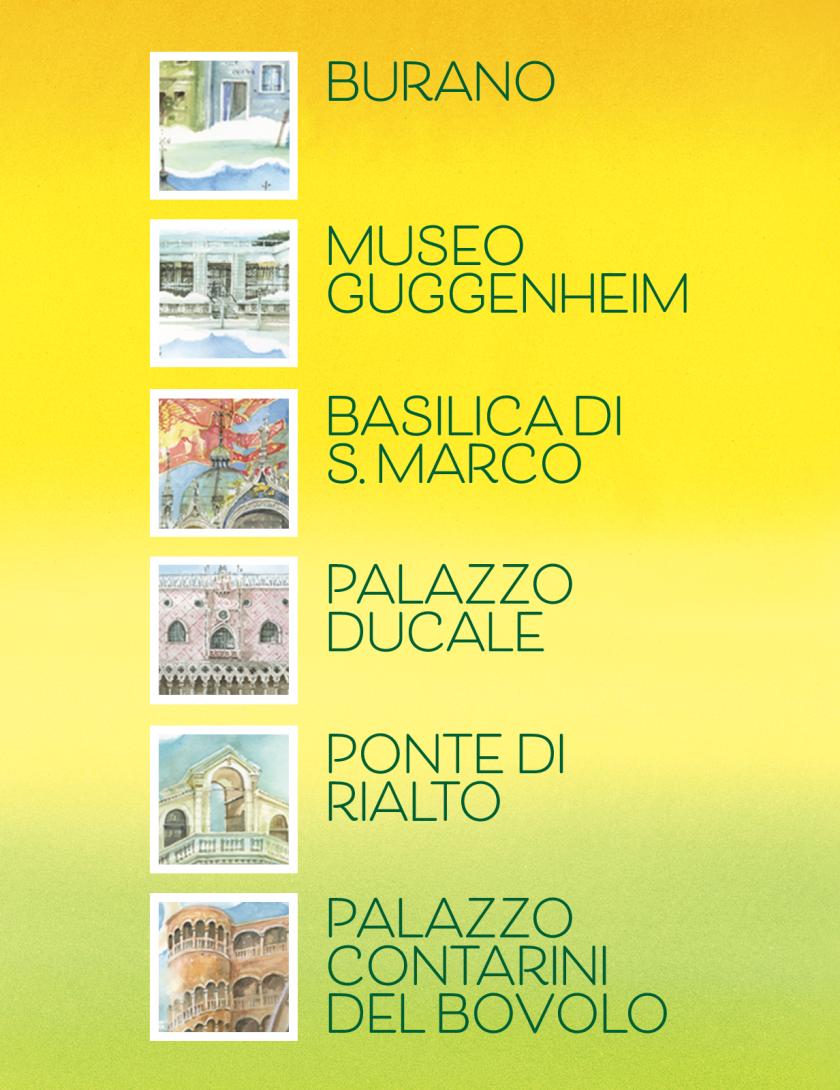 Puzzle Venezia Goccioline 1080 pezzi 50x70 cm - Scorci della città