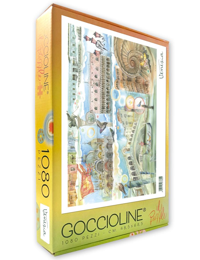 Puzzle Goccioline Venezia 1080 pezzi 50x70 cm
