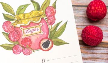 Marmellata di Litchi, la ricetta di dicembre dal calendario Acquolina