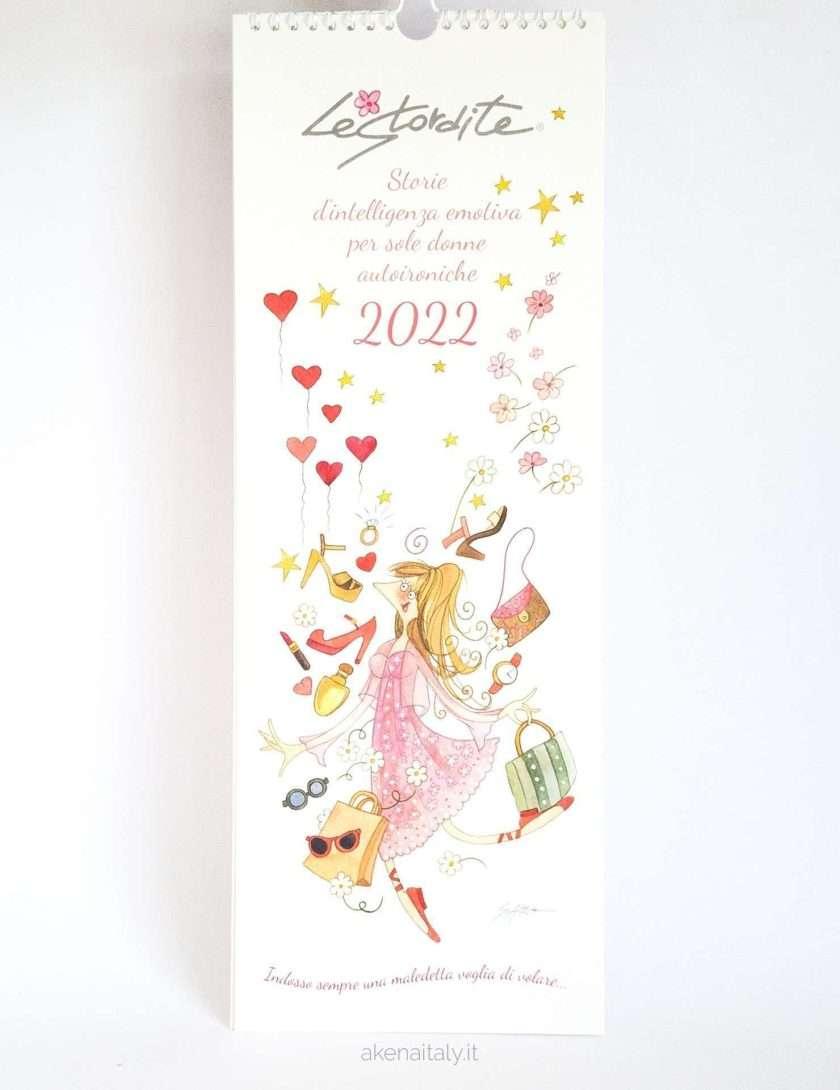 Calendario 2022 Le Stordite da muro - Copertina illustrata