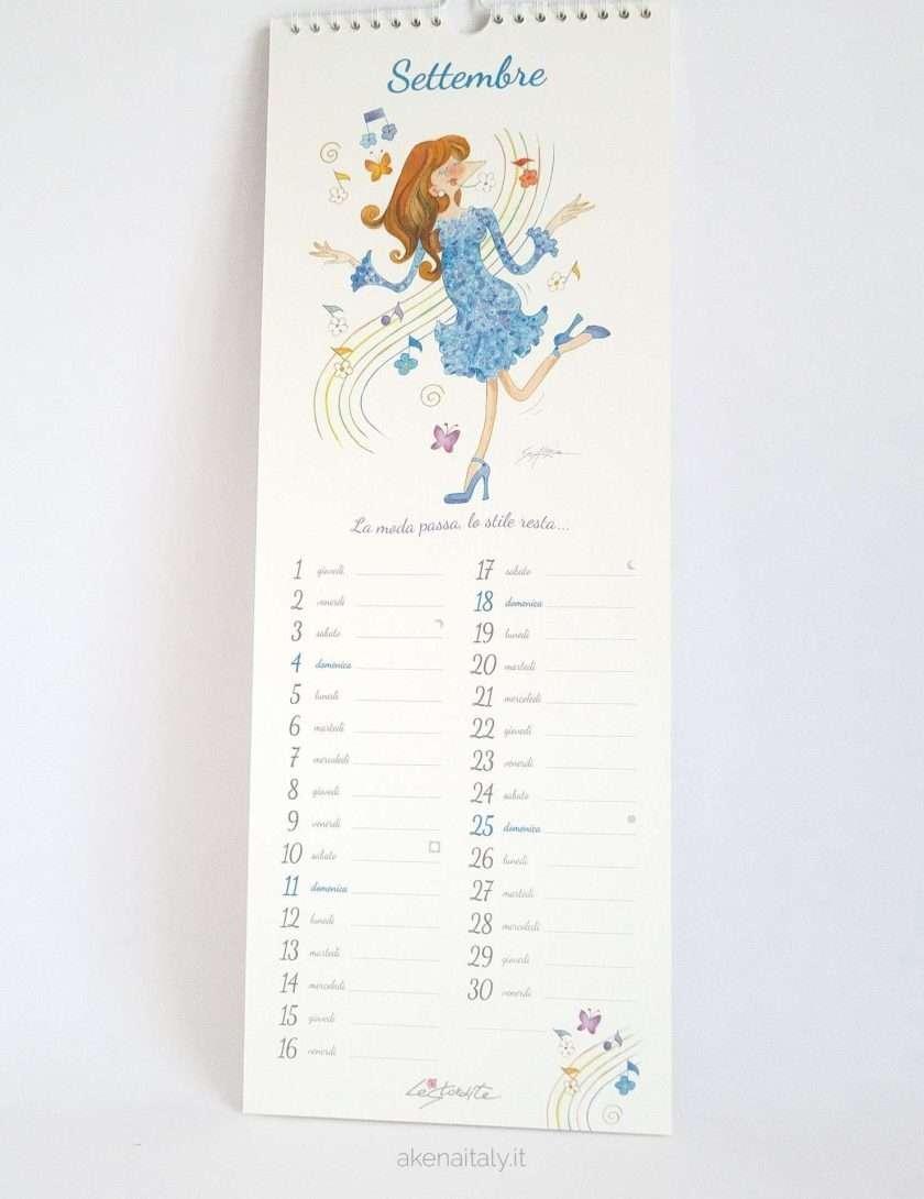 Calendario 2022 Le Stordite - Settembre