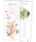 Calendario da parete Le Stordite 2022 - Copertina illustrata con frase autoironica