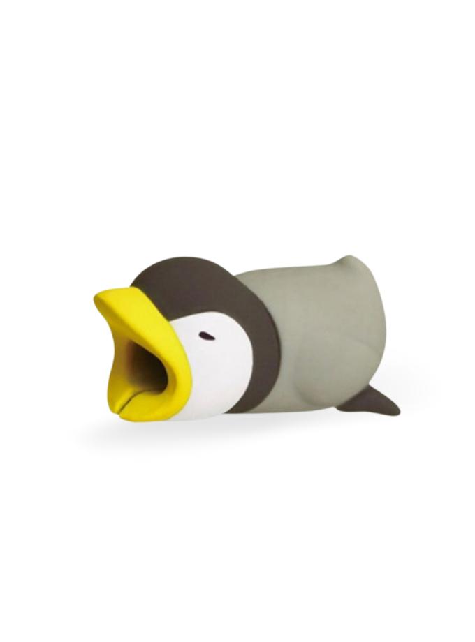 Proteggi cavo a forma di pinguino