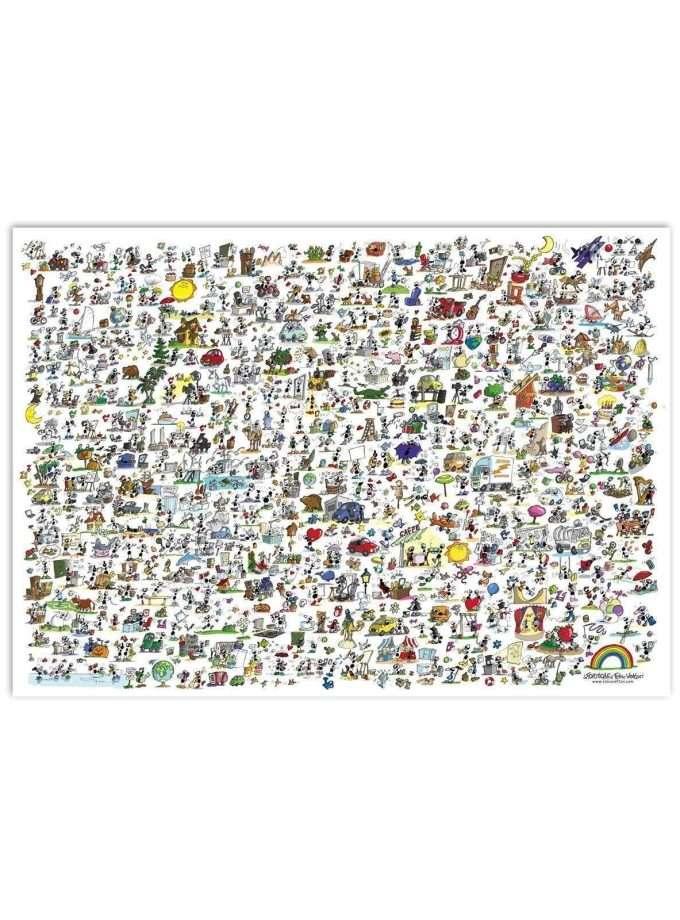 Puzzle Tu che formica sei? - Le Formiche di Fabio Vettori - 1080 pezzi